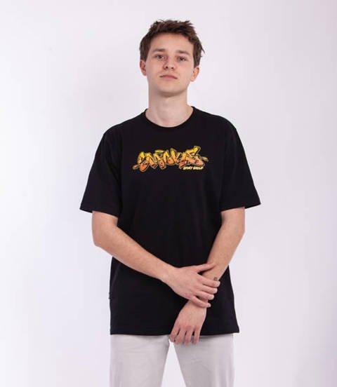 Smoke Story GRAFFITI SSG T-Shirt Czarny