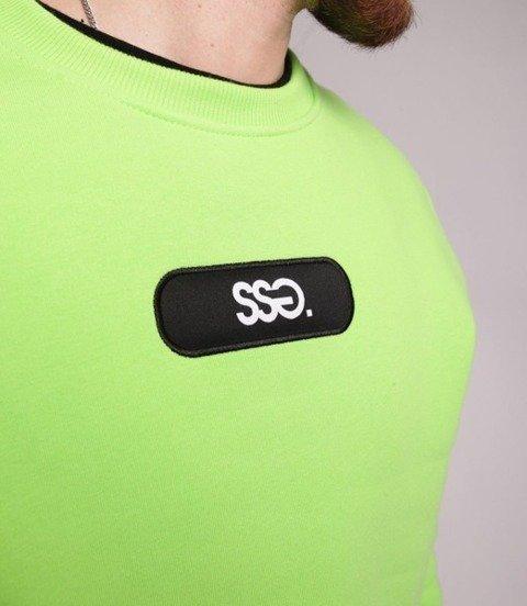 Smoke Story SMALL SSG Bluza bez kaptura Neon