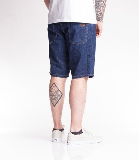 Smoke Story SSG CLASSIC Krótkie Spodnie Medium Jeans