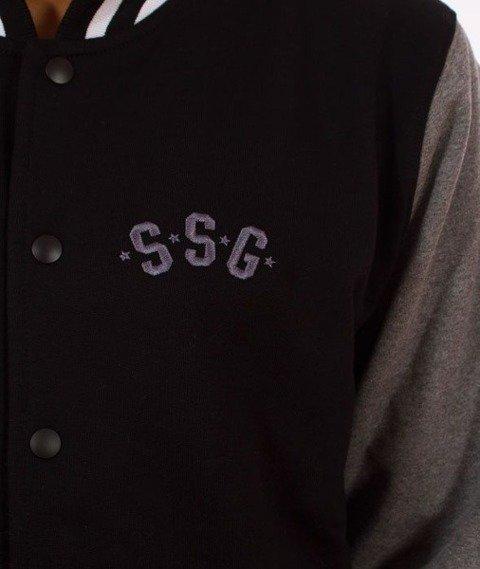 SmokeStory-Baseballówka Premium Bluza Czarna