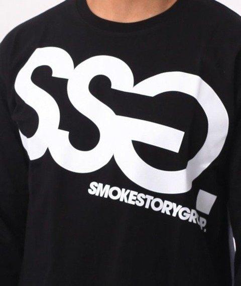 SmokeStory-Big Longsleeve Czarny