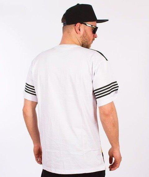SmokeStory-City Triangle T-Shirt Biały