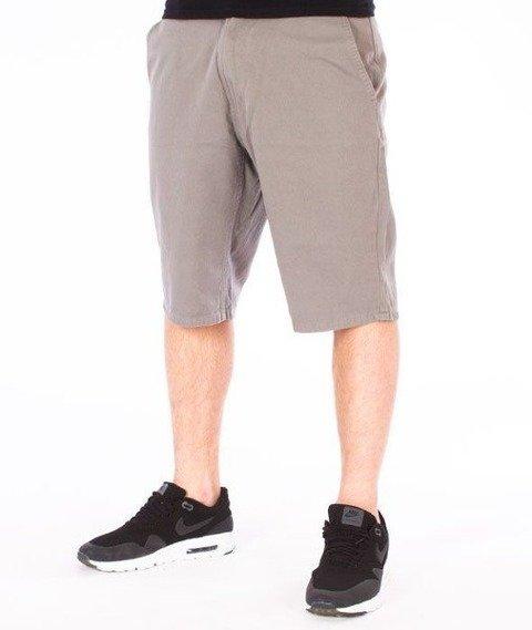 SmokeStory-Classic Krótkie Spodnie Slim Szare