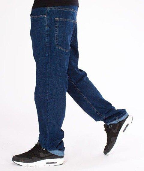 SmokeStory-Classic Regular Jeans Spodnie Medium Blue