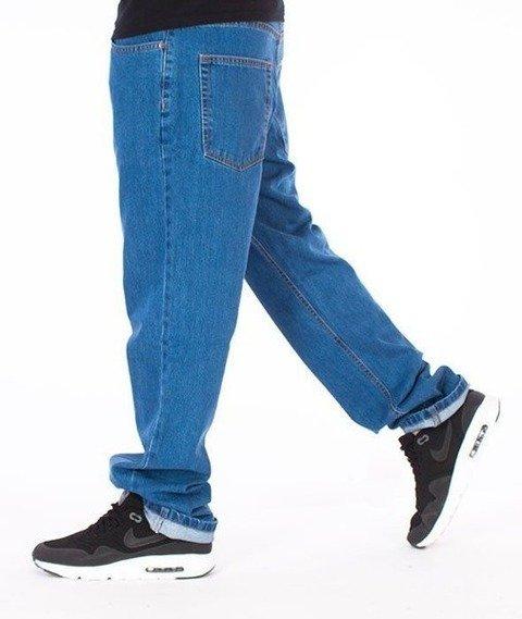 SmokeStory-Classic Slim Jeans Light Blue