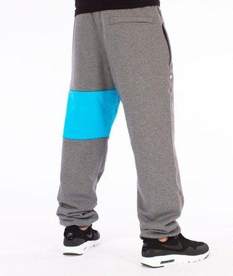 SmokeStory-Colors Line Regular Spodnie Dresowe Grafitowe