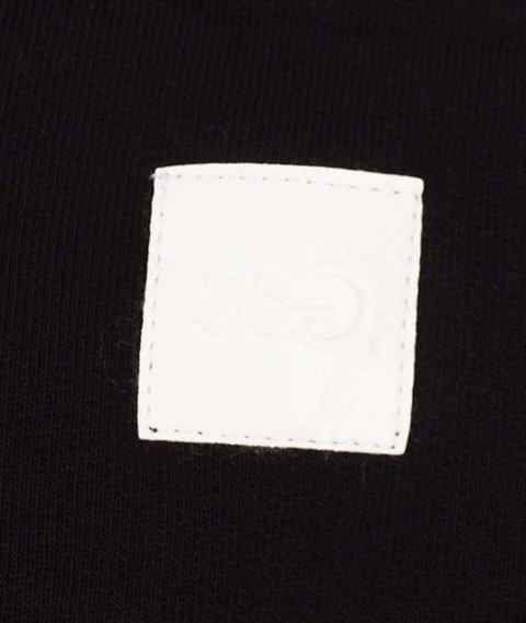 SmokeStory-Dots Triple Crewneck Bluza Czarny/Bordo