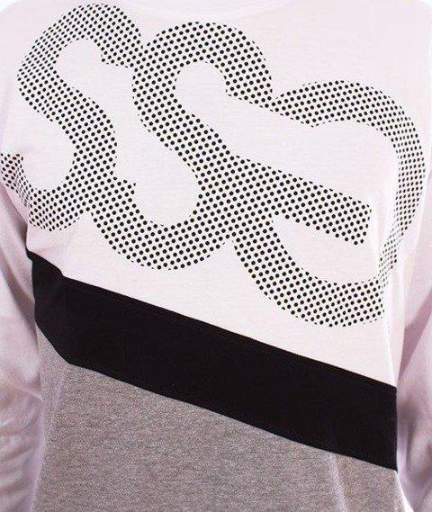 SmokeStory-Dots Triple Longsleeve Biały
