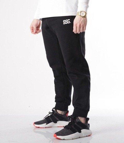 SmokeStory-Double back Spodnie Jogger Czarne