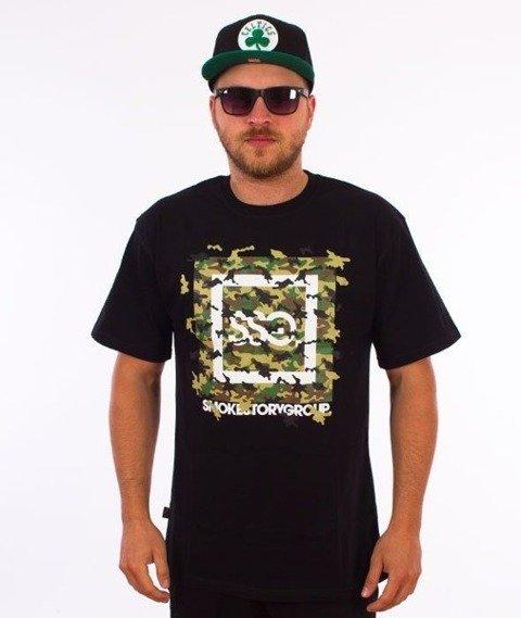 SmokeStory-Fly Moro T-Shirt Czarny