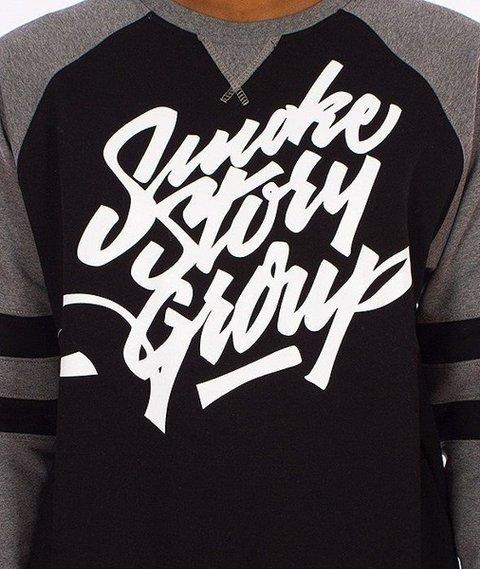 SmokeStory-Hockey Bluza Czarna/Grafitowa