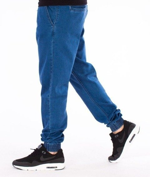 SmokeStory-Jogger Regular Gumka Light Blue