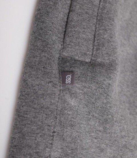 SmokeStory-Light Classic SSG Krótkie Spodnie Bawełniane Ciemno Szare