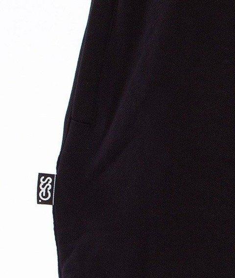 SmokeStory-Lines Baggy Spodnie Dresowe Czarne