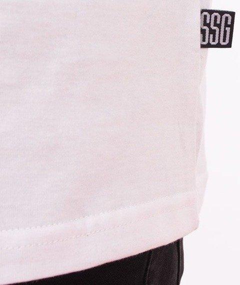 SmokeStory-Moro 08 Premium T-Shirt Biały/Camo