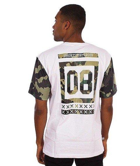 SmokeStory-Moro 08 T-Shirt Biały