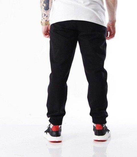 SmokeStory-Moro Cross Line Spodnie Jogger Czarne