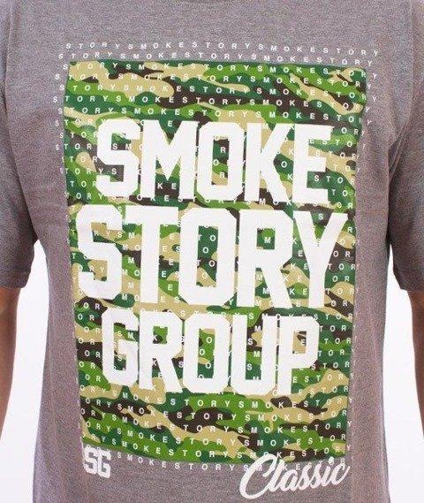 SmokeStory-Moro Dots T-Shirt Szary