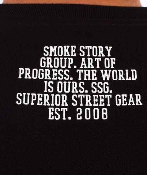 SmokeStory-Moro Line Bluza Czarna