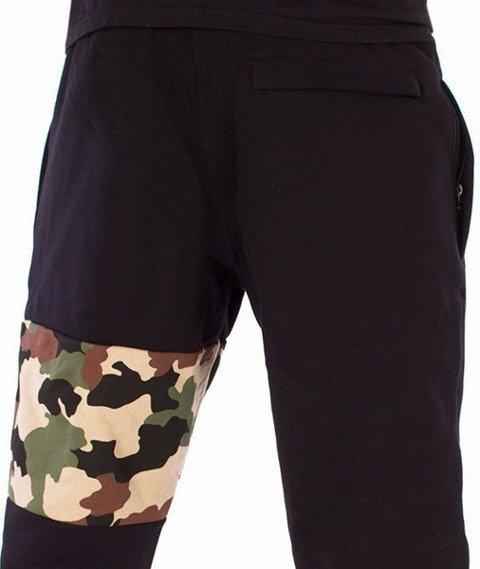 SmokeStory-Moro Part Regular Spodnie Dresowe Czarne/Camo
