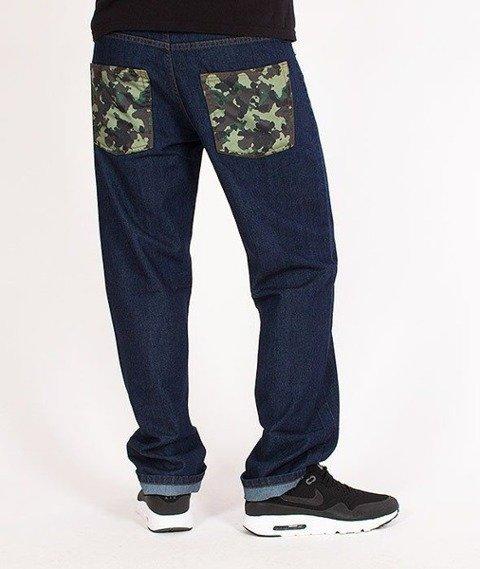 SmokeStory-Moro Slim Jeans Dark Blue