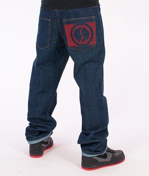 SmokeStory-New Logo Regular Jeans Dark Blue