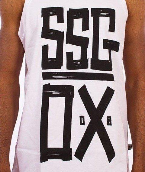 SmokeStory-OX SSG Tank Top Biały