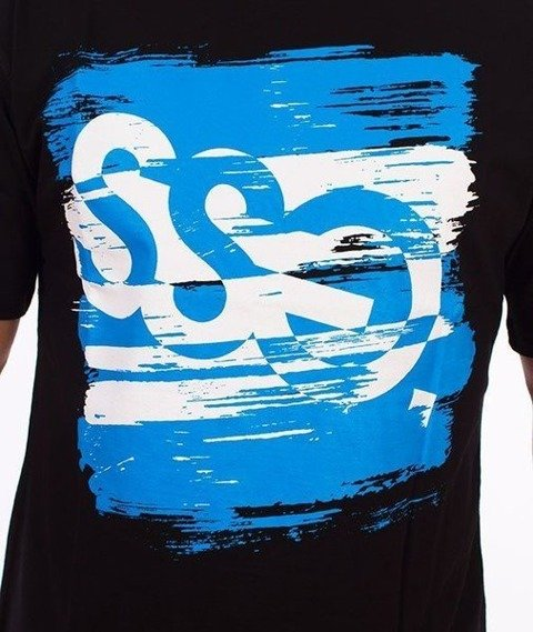 SmokeStory-Paint Tag T-Shirt Czarny
