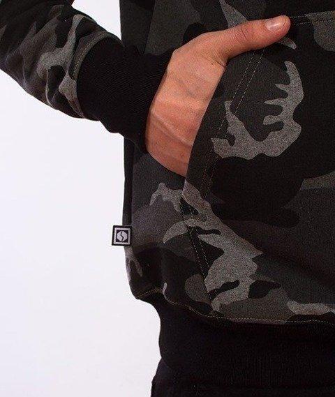 SmokeStory-Premium Moro Flag Bluza z Kapturem Camo Czarne