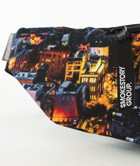 SmokeStory-Print City Saszetka Nerka Dark City