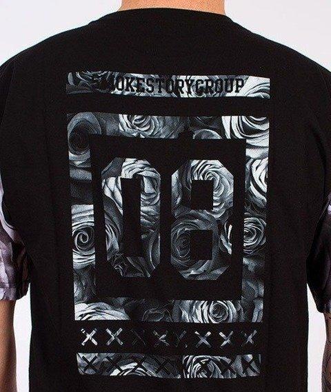 SmokeStory-Rose 08 T-Shirt Czarny