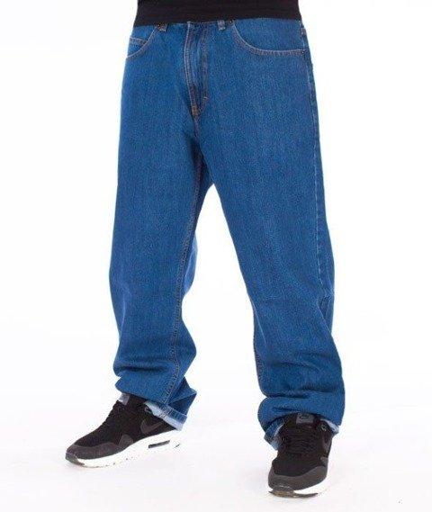SmokeStory-SMG Regular Jeans Spodnie Light Blue