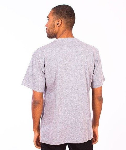 SmokeStory-SMG Tag T-Shirt Szary