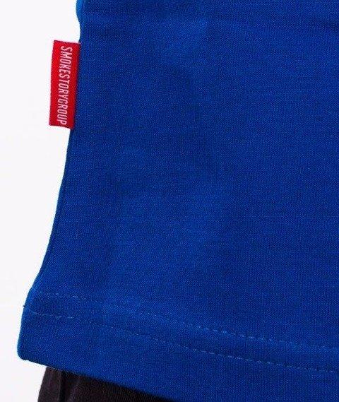 SmokeStory-SSG City T-Shirt Niebieski