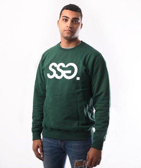 SmokeStory-SSG Classic Crewneck Bluza Ciemny Zielony