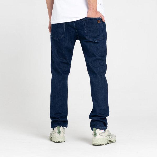 SmokeStory- SSG Classic Slim Jeans Spodnie Medium Blue