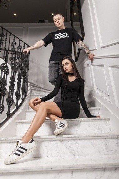 SmokeStory-SSG Classic T-Shirt Czarny