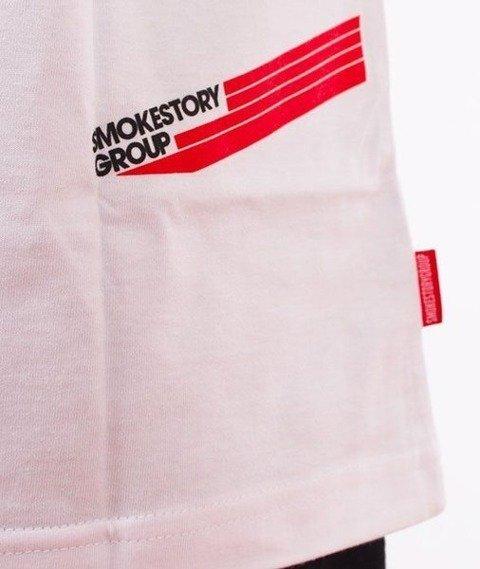 SmokeStory-SSG Dots T-Shirt Biały