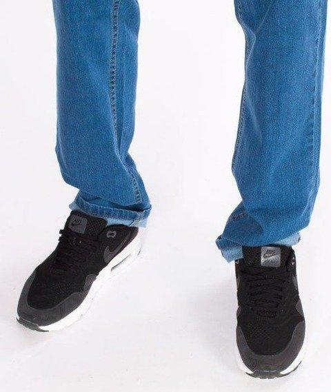 SmokeStory- SSG Haft Classic Slim Jeans Spodnie Light Blue