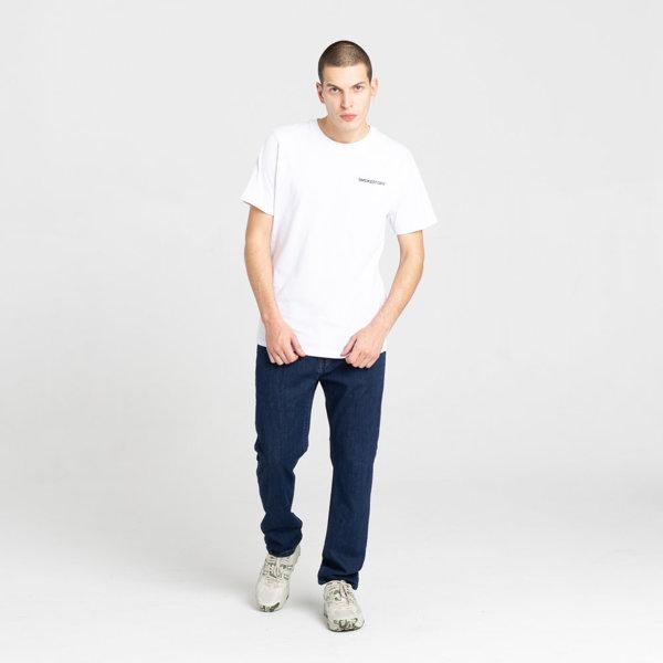 SmokeStory- SSG Haft Classic Slim Jeans Spodnie Medium Blue