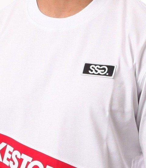SmokeStory-Slant SMG T-Shirt Biały
