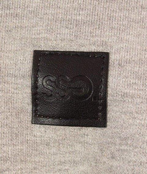 SmokeStory-Small Classic Crewneck Bluza Jasny Melanż