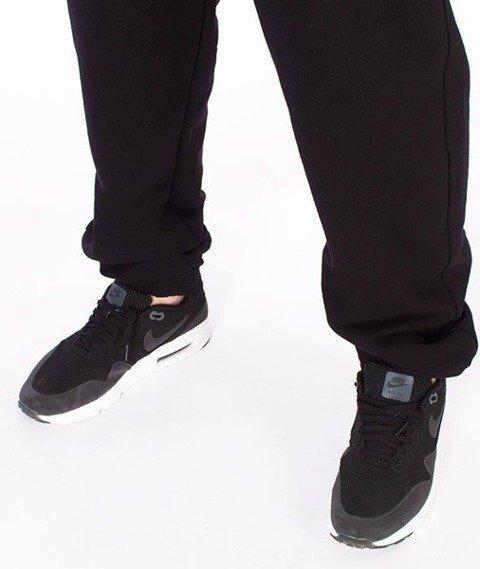 SmokeStory-Small Tag SSG Jogger Spodnie Dresowe Czarne