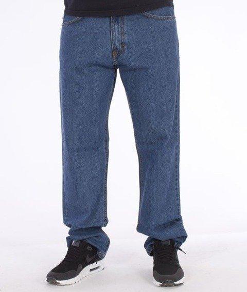 SmokeStory-SmokeStory Regular Jeans Light Blue