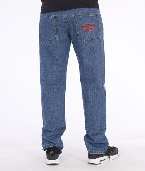 SmokeStory-SmokeStory Slim Jeans Light Blue
