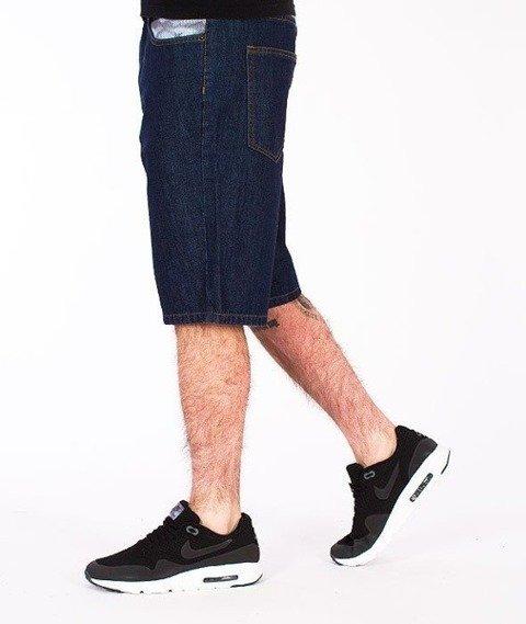 SmokeStory-Snake Moro Krótkie Spodnie Dark Blue