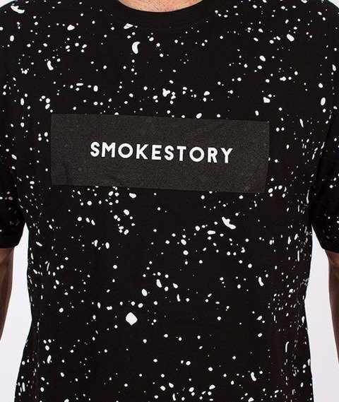 SmokeStory-Splash T-Shirt Czarny