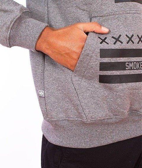 SmokeStory-Square Bluza Kaptur Grafitowy
