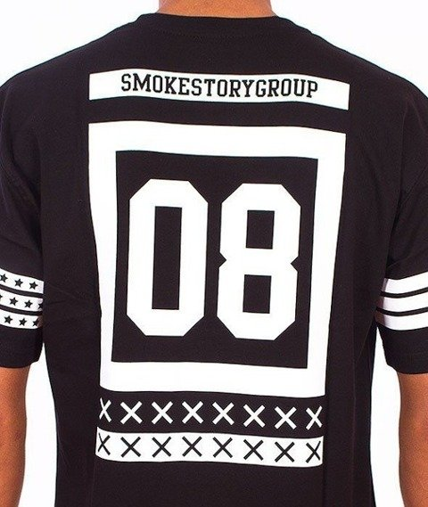 SmokeStory-Square T-Shirt Czarny