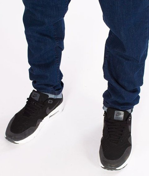 SmokeStory-Stretch Skinny Jeans z Gumą Spodnie Medium